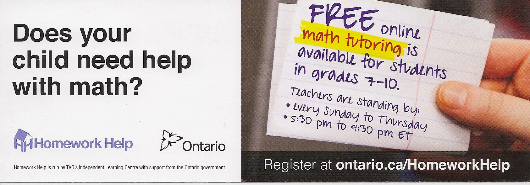 Homework help ontario website